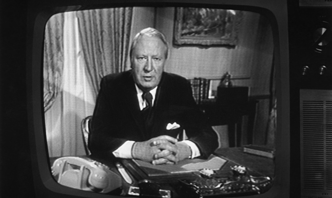Edward Heath On TV in 1974