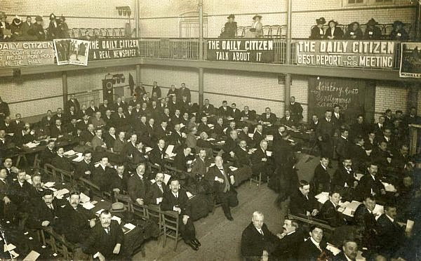 Lambeth Baths National labour Party Conference 1913 Barrett