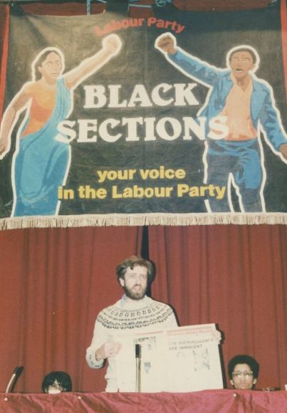 Jeremy Corbyn Black Sections