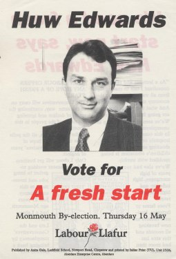 huw edwards monmouth Labour May 1991 usk abergavenny
