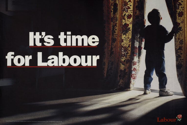 56628427_labour_party_poster_-_its_time_for_labour_1992_election-BBC