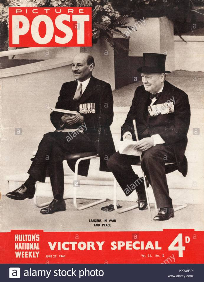 1946-picture-post-magazine-winston-churchill-clement-atlee-KKN8RP